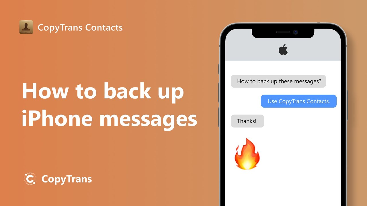 3 ways to backup WhatsApp messages to computer | CopyTrans