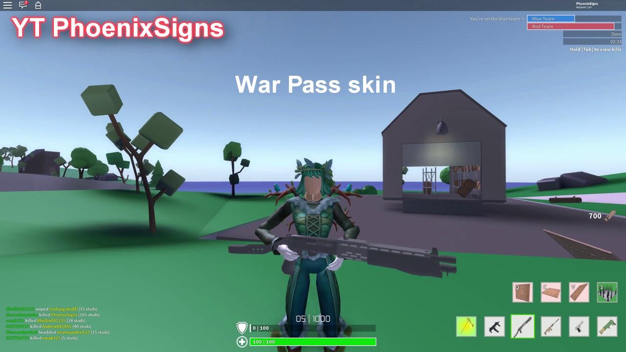 Strucid War Pass Preview - YouTube