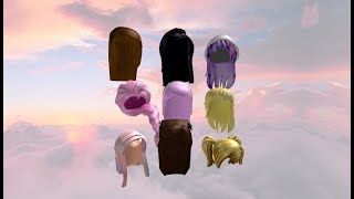 Roblox Hair Codes For Girls