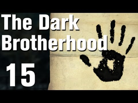 Skyrim Dark Brotherhood Walkthrough Part 15 - Death Incarnate