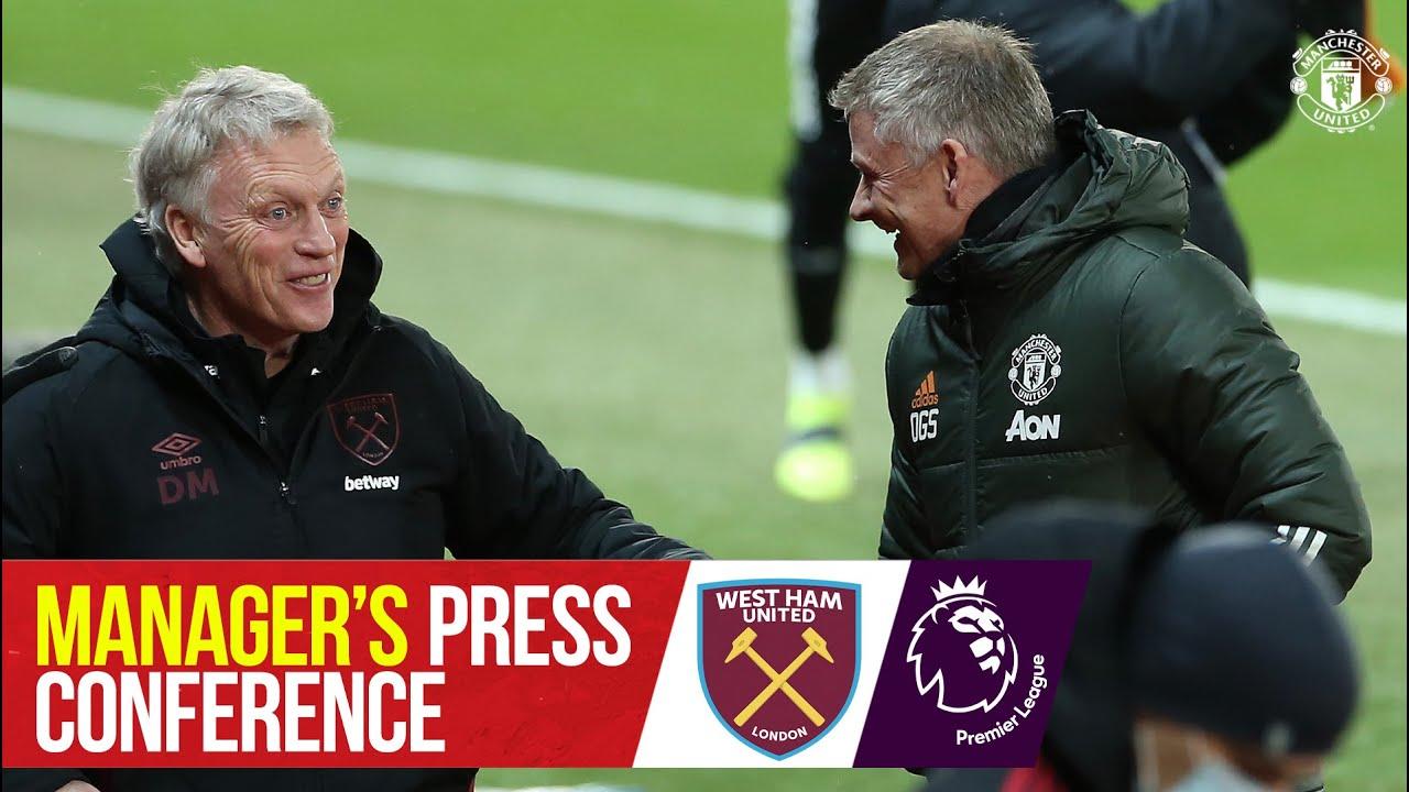 Manager's Press Conference | Manchester United v West Ham | Ole Gunnar Solskjaer | Premier League - Manchester United