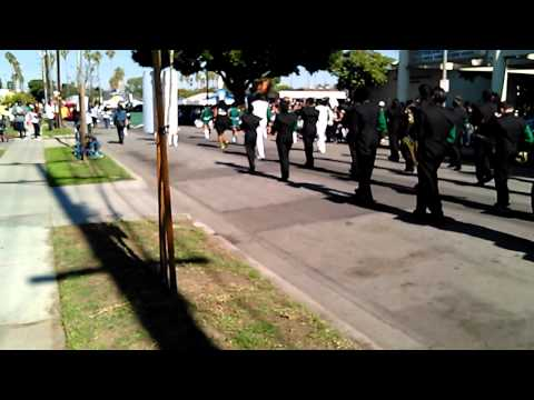 cabrillo high school marching band MLK parade 2015