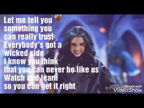 Chillin like a villian lyrics (From Descendants 2) Sofia Carson