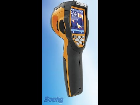 THT45 Thermal Camera demonstrated by Saelig