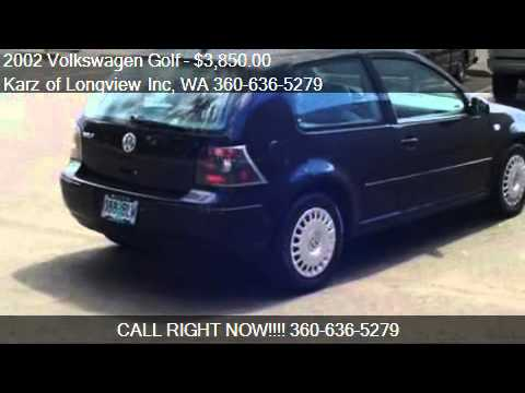 2002 Volkswagen Golf 2-DOOR - for sale in Longview, WA 98632