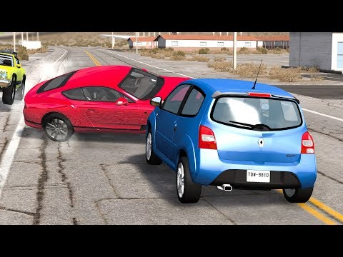 LOSS OF CONTROL Crashes #28 - BeamNG Drive | CRASHdriven