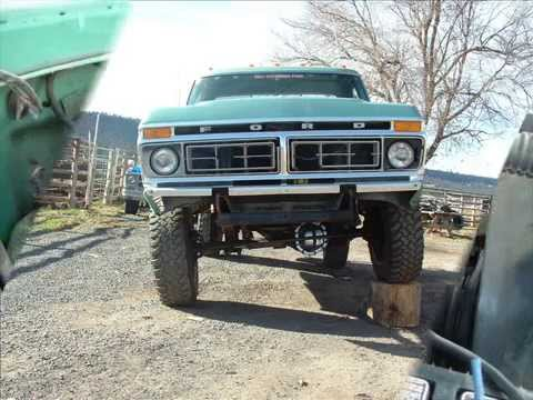 1977 ford f 250 high boy with a 429 youtube
