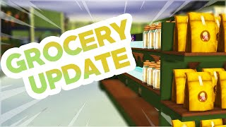 GROCERY STORE UPDATE!!! (The Sims 4 Mods)