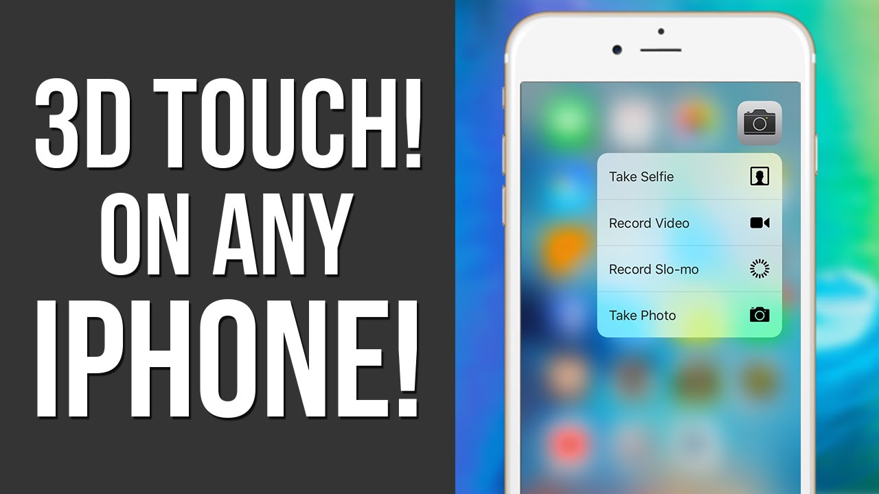 iphone 6 plus for free how to get 3d touch on iphone 6 amp 6 plus free 9630