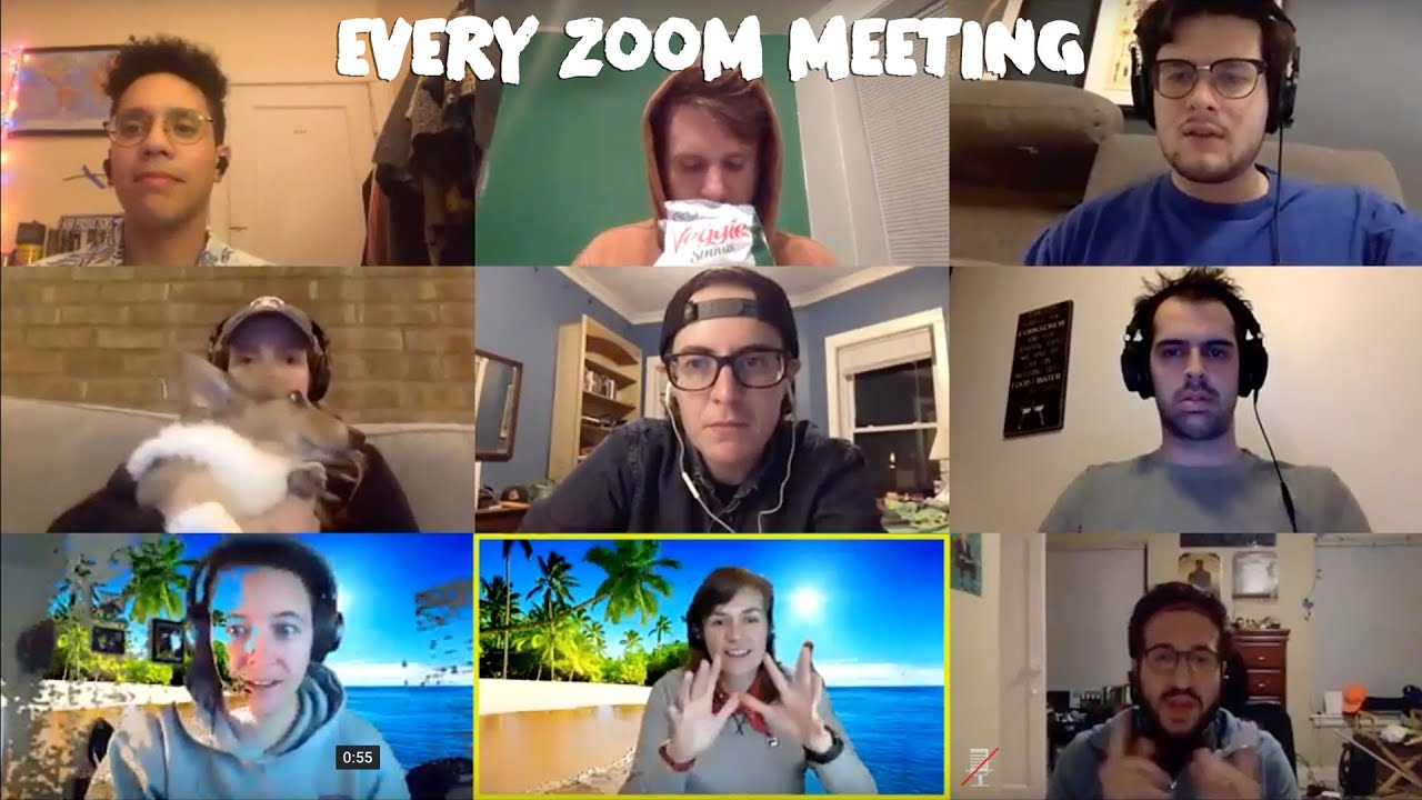 Every Zoom Meeting Youtube