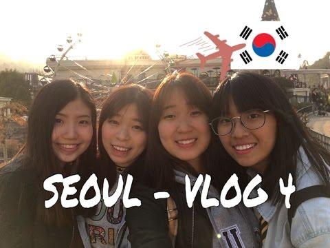 S.KOREA - SEOUL #VLOG 4 - EVERLAND!!!