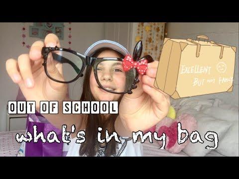 What`s in My School Bag?/Erika Doumbova/Какво имам в чантата ми от училище?/Ерика Думбова
