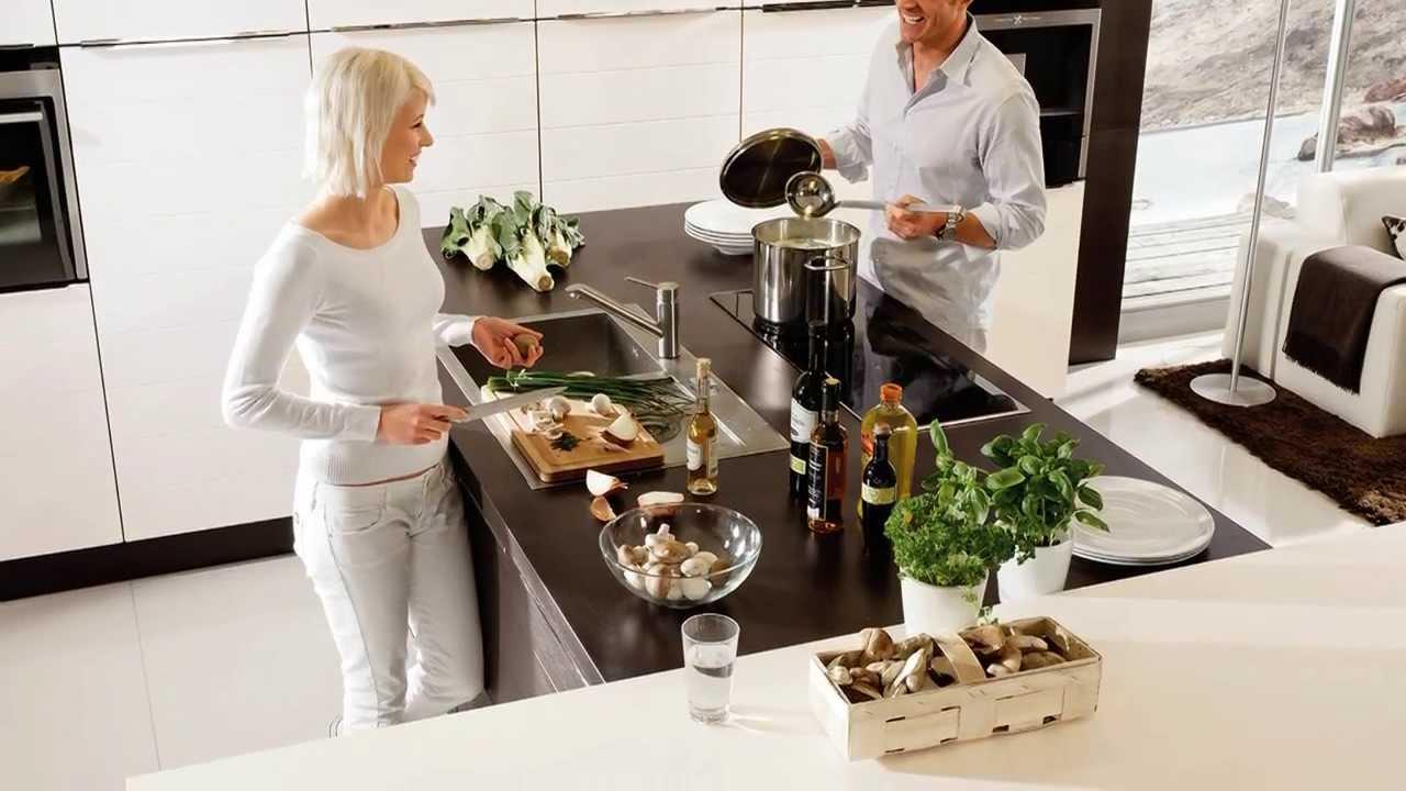 Kücheninseln voll im Trend - YouTube