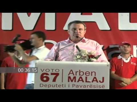 Arben Malaj mbyll fushaten ne Vlore