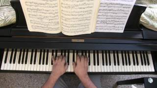 BACH: Prelude in B-flat Minor, WTC 2 (BWV 891)