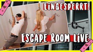 EINGESPERRT 😳 im ESCAPE ROOM mit Prince Damien MaVie Vlog