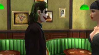 """The Dark Knight"" Trailer (The Movies PC Game)"