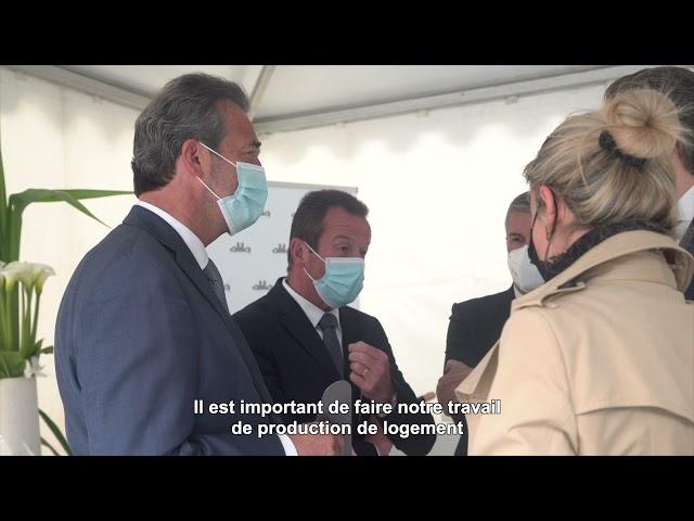 ALILA – 1ère Pierre de LES TERRASSES DE L'ANCION à Thonon-les-Bains - Mr COMETTE –Dir. Agence Annecy