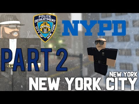 Roblox NYPD Patrol Part 2   Slow Day!  