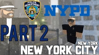 Roblox NYPD Patrol Part 2 | Slow Day! |