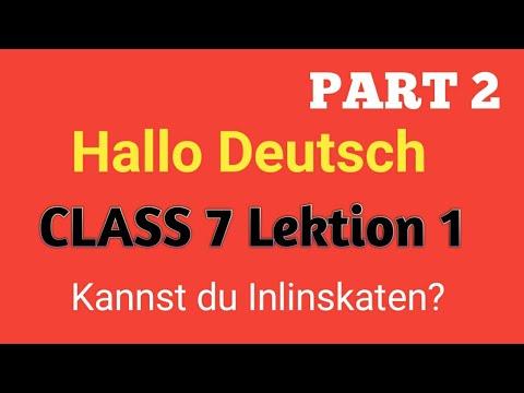 Module Deutsch