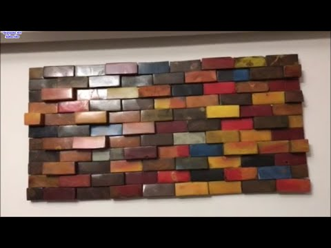 Skarpato Art - How To Make a Reclaimed Wooden 3D Wall Art For the Living  Room