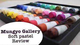 Mungyo Gallery Handmade Soft Pastel Review || Affordable artist quality soft pastels screenshot 3