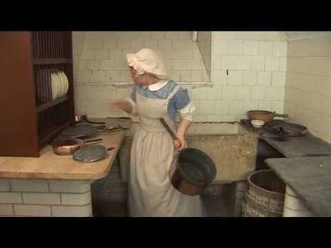 Hatfield House Victorian Kitchen - Scullery Maid
