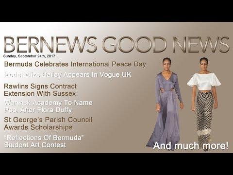 "Bernews ""Good News"" Sunday Spotlight, September 24, 2017"