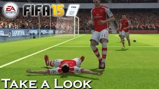 Fifa 15 - X360 PS3 Gameplay (XBOX 360 720P) Take a Look