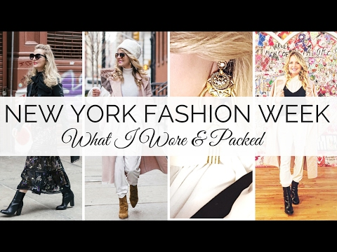 New York Fashion Week | What I Wore & Packed