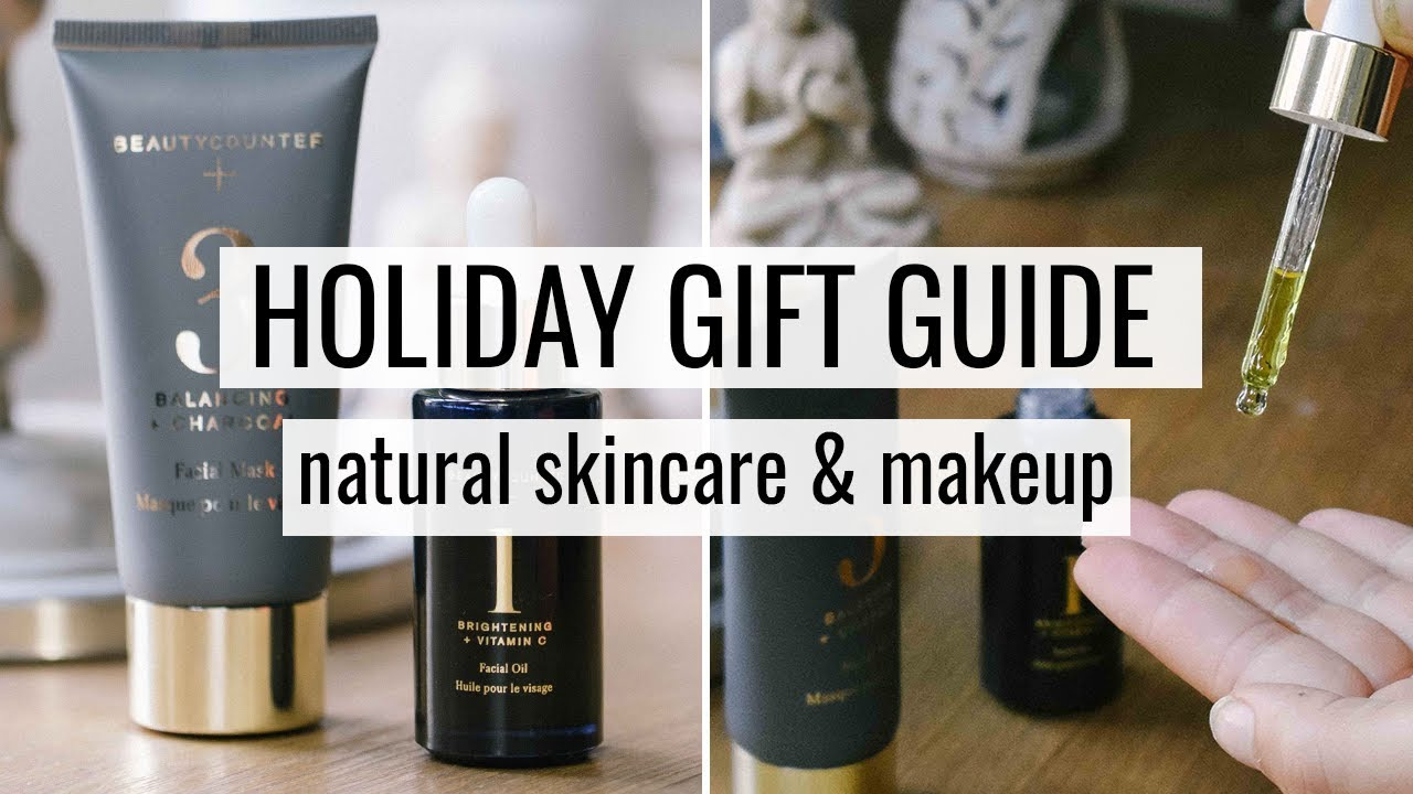 3. NATURAL SKINCARE & MAKEUP GIFT GUIDE | #giftweek