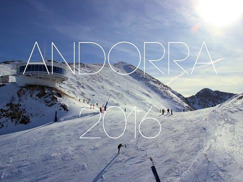 Andorra 2016 - Skiing in Pas De La Casa