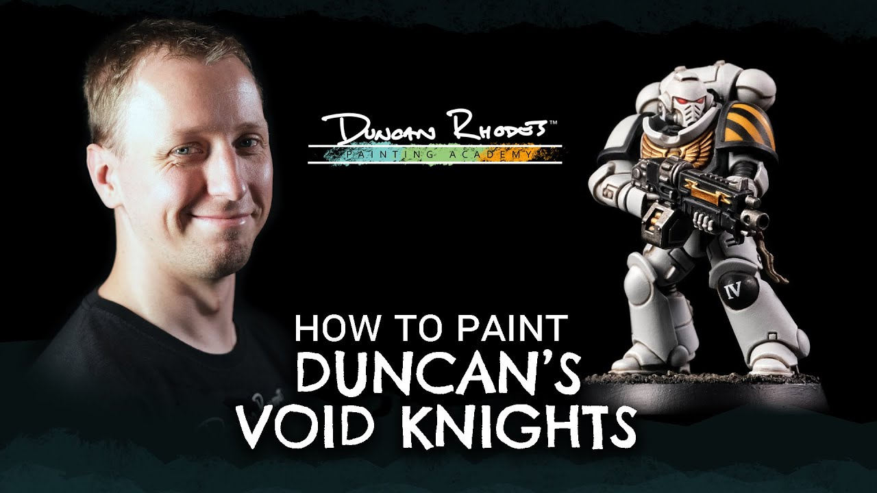 How to Paint: Duncan's Void Knights.