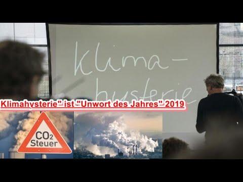 Klimahysterie ist Unwort des Jahres 2019- 2020 - YouTube
