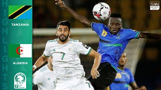 HIGHLIGHTS: Tanzania vs. Algeria