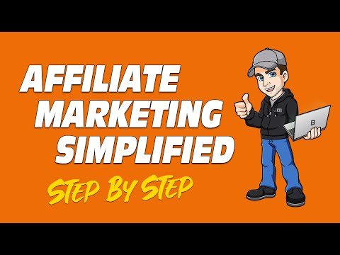 Affiliate Marketing Simplified for Beginners (Step-By-Step) thumbnail