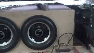 One of EXOcontralto's most viewed videos: Insane Subwoofer Box w/ Soundstream XXX 15 - Crazy 150db Car Audio Flex & Loudest SPL Bass Song Demo