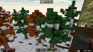 Кубезумие 2   3D FPS Прохождение миссии Лютный Мороз