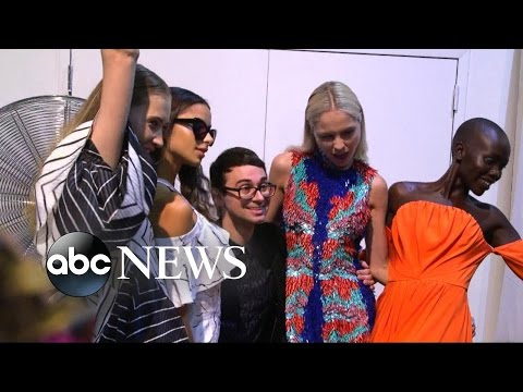 Ny Fashion Week Behind The Scenes With Designer Christian Siriano Youtube