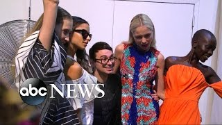 NY Fashion Week Behind the Scenes with Designer Christian Siriano
