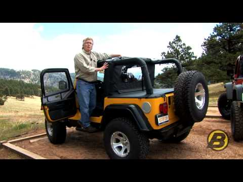 Bestop how to get the most from your jeep soft top doovi for Starr motors off road day 2017