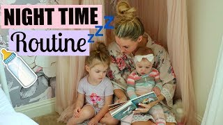 NIGHT TIME ROUTINE WITH A BABY AND TODDLER | FAMILY BEDTIME ROUTINE | Tara Henderson