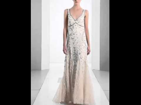 Sue Wong Beaded Floral Embroidered Tulle Gown - Elegant Bridal ...