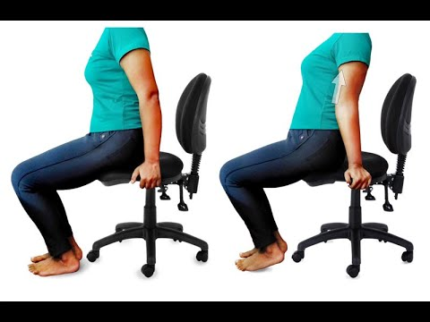 Dynamic Sitting Exercise - Demonstrating Research through Modelling