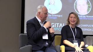 Debata CAN THE FUTURE BE MADE? DIGITAL PROMISES AND FUTURE OF THE INTERNET I Digital Champions 2018