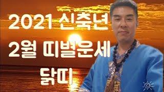 [더용TV]2021 신축년 2월 띠별운세 닭띠
