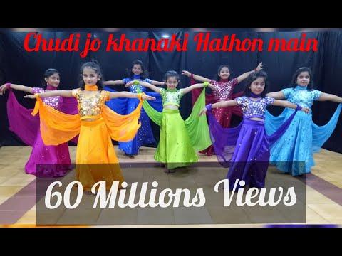 Chudi jo khanaki dance performance , Falguni Pathak song
