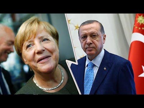 Merkel'den Erdoğan'a yanıt: Müdahaleye müsamaha yok