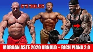 Morgan Aste added to Arnold 2020 + Rich Piana 2.0 + Bonac 7 Weeks Out + MORE